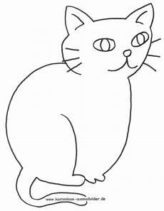 ausmalbild katze zum ausdrucken