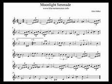 moonlight serenade play clarinet youtube