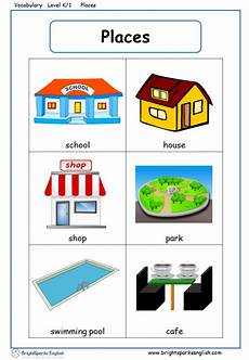 places to visit worksheets 16035 places vocabulary worksheet treasure trove