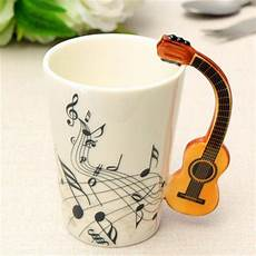 guitar coffee mug limited edition quot acoustic guitar quot premium ceramic mug 7 4oz mugdom