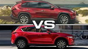 Mazda Cx 5 Vs Toyota Rav4 2019  Cars Review Release