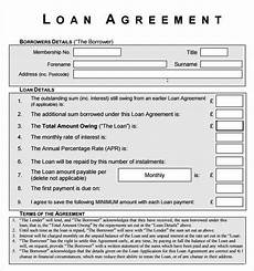 21 loan contract template free download