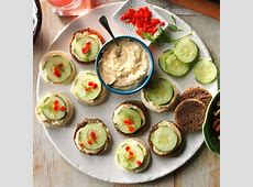 cucumber canapes_image