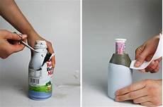 Diy Betonvase Oder Kerzenst 228 Nder Flasche