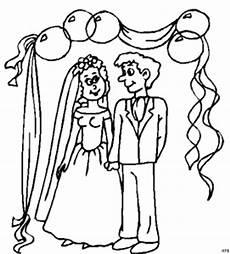 Brautpaar Ausmalbilder Malvorlagen Brautpaar Unter Ballons Ausmalbild Malvorlage Gemischt