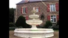 bassin de jardin avec cascade 62005 fabrication fontaines de jardin en reconstituee