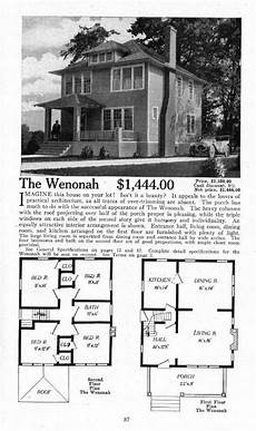 modern foursquare house plans another spacious foursquare is the aladdin wenonah