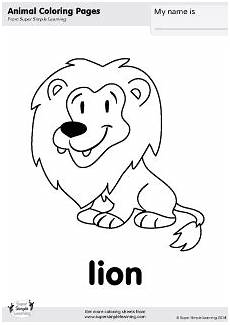 animals colouring pages for kindergarten 16979 free coloring page from simple learning tons of free zoo animal worksheets and