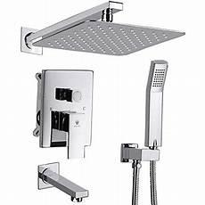 unterputz duscharmatur set himk shower system shower faucet set with tub spout for