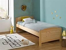 lit enfant bois massif opale 90x200 sommier matelas