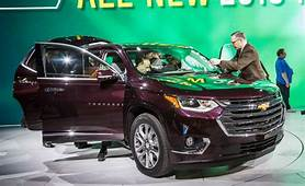 2018 Chevrolet Traverse 26  SUV News And Analysis