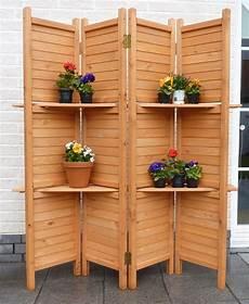 Paravent Für Garten Sichtschutz Promadino 171 Inkl Regalfunktion 187 Paravent 4