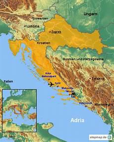 Stepmap Urlaub Kroatien 2015 Landkarte F 252 R Kroatien