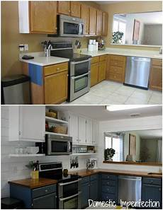 Kitchen Ideas Cheap Makeover by Farmhouse Kitchen On A Budget The Reveal Budget
