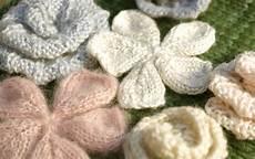fiori di ai ferri knit appliques free patterns grandmother s pattern book