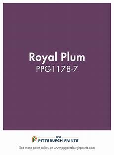 royal plum ppg1178 7 from ppg pittsburgh paints purple is a majestic color coming from