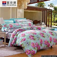 fuanna 4pcs cheap printing bedding bed linen bed