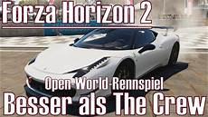 forza horizon 2 besser als the crew open world