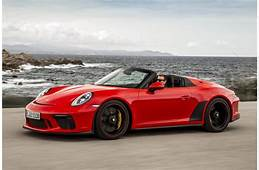 All New 2019 Porsche 911 Speedster What You Need To Know