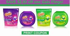 just released save 2 00 off one gain flings print now cvs couponers