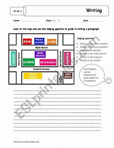 giving directions worksheets islcollective 11706 giving directions writing esl worksheet by yuri sama
