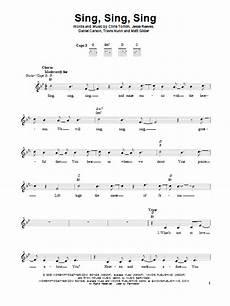 sing sing sing sheet music direct