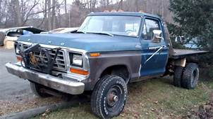 Ford F 250 Standard Cab Pickup 1979 Blue For Sale