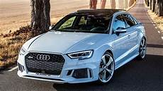 wow cool spec 2018 audi rs3 sedan 400hp 5cyl glacier white and details 0 100
