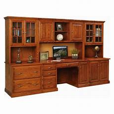 home office furniture wall units ridge ave office wall unit amish handcrafted solid