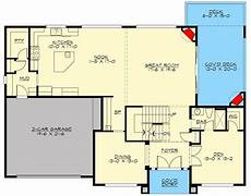 craftsman style house plans with walkout basement contemporary craftsman house plan with walkout basement