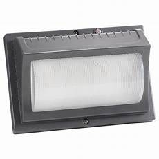 honeywell 22 watt titanium gray outdoor integrated led wall pack light me022051 82 the home depot