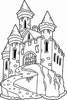 printable castle coloring pages at getcolorings free