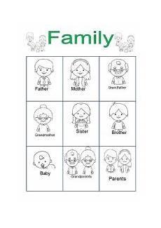family for kindergarten esl worksheet by andang