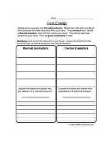 heat energy worksheet 2 subject science heat energy science worksheets worksheets