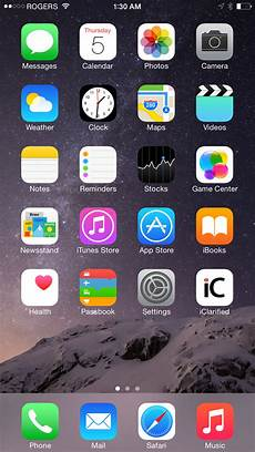 Iphone 6 Home Screen Apple Wallpaper