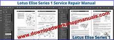 service manuals schematics 2001 lotus esprit regenerative braking lotus elise series 1 workshop repair manual