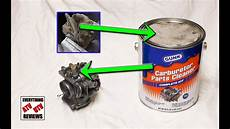 vergaser ultraschall reinigen best carburetor cleaner for extremley gummed up carbs how