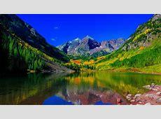 Maroon Bells Peaks Colorado 5K Wallpapers   HD Wallpapers