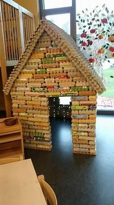 Haus Aus Eierkartons Basteln Preschool For