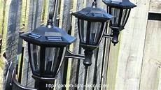 2 pk outdoor garden solar wall landscape solar light brand atlantic solars youtube