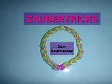 tricks zum nachmachen loom bands armband zaubertricks einfach zum nachmachen