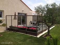 pare vent vitré pare vent en verre autour d une terrasse en composite 224