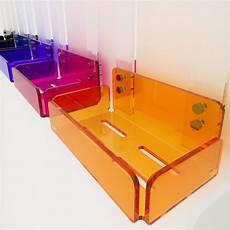 mensola colorata single shelf for shower in colored plexiglass 100 made