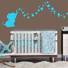 kinderzimmer wand ideen cutie elephant bubbles wall decal vinyl wall nursery room