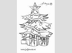 Kerst kleurplaten   Juf Jannie leren met kinderen