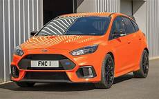 bright orange ford focus rs heritage edition for uk only