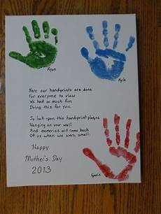 s day handprint printable 20558 s day handprints but with a different poem than you normally find i liked mothers