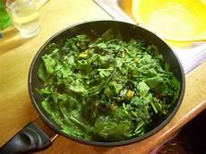 rezept frischer spinat frischer spinat aus der pfanne