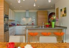 Decorating Ideas For Kitchen Area by Orange Kitchen Colors 20 Modern Kitchen Design And