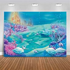 5x3ft 7x5ft 9x6ft Snow Snowflake Forest by Backdrops 5x3ft 7x5ft 9x6ft Sea World Underwater Coral